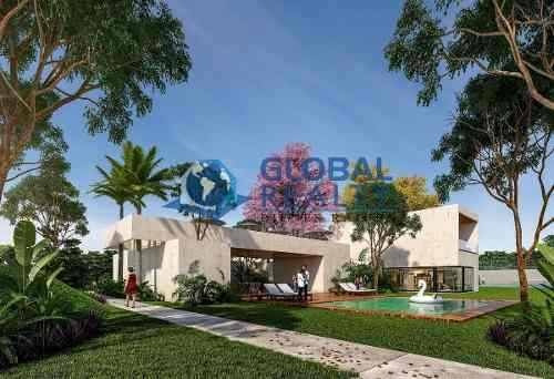 terreno en venta en privada, zona cholul-conkal. tv-5136