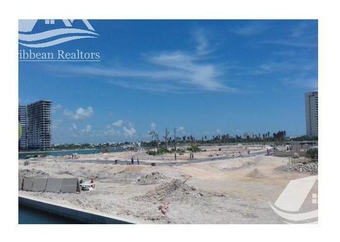 terreno en venta en puerto cancun/zona hotelera