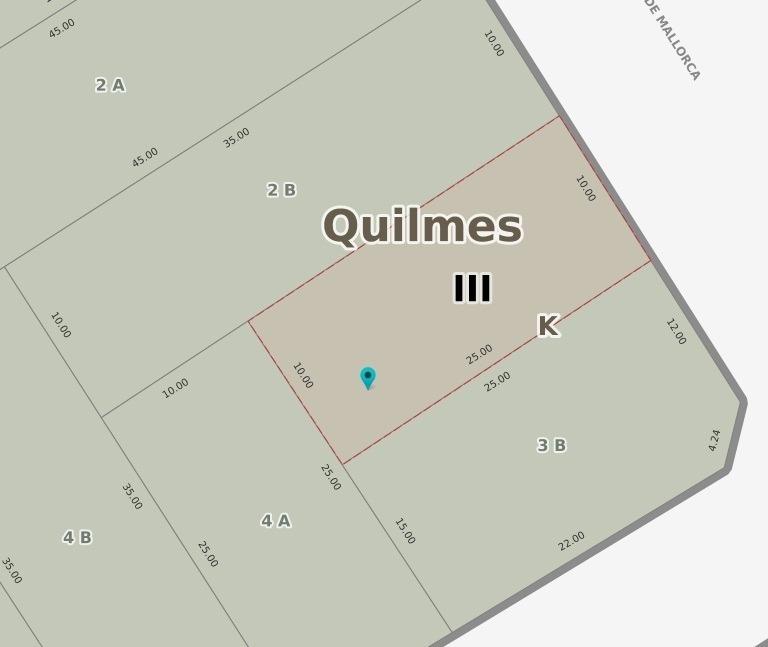 terreno en venta en quilmes oeste