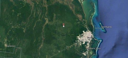 terreno en venta en quintana roo en la zona continental de cancún e isla mujeres
