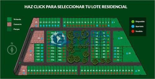 terreno en venta en residencial al norte mérida. tv-4944