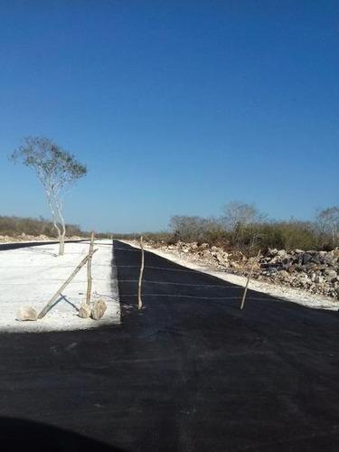 terreno en venta en residencial san diego cutz, mérida yucatán.