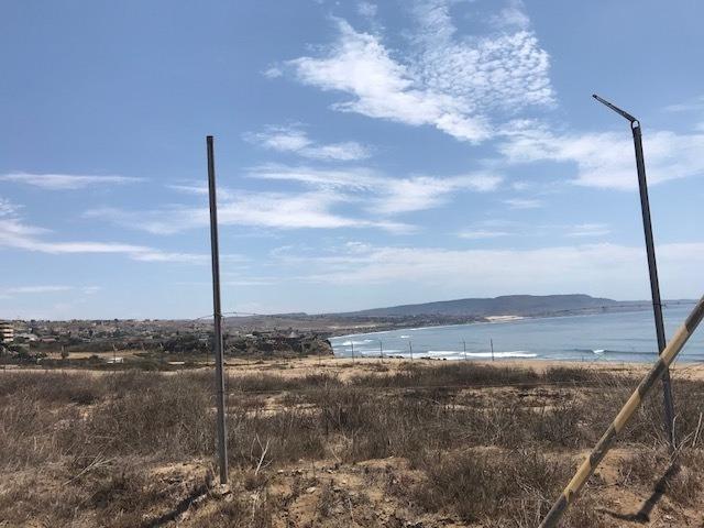 terreno en venta en rosarito con vista al mar