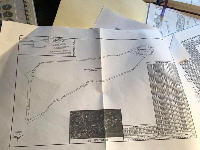 terreno en venta en san francisco santiago nuevo leon, carretera nacio