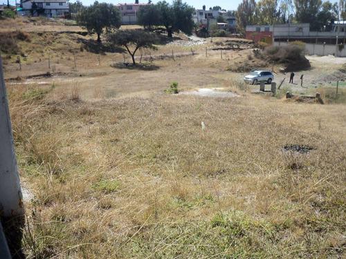 terreno en venta en san francisco totimehuacan