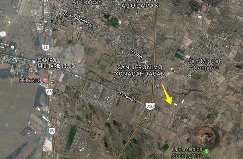 terreno en venta en san jerónimo xonacahuacan, tecamac