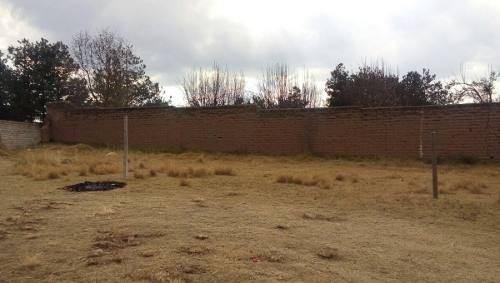 terreno en venta en san juan de las huertas, zinacantepec