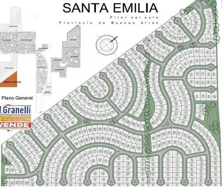 terreno en venta en santa emilia