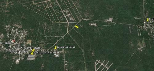 terreno en venta en sierra papacal yucatán