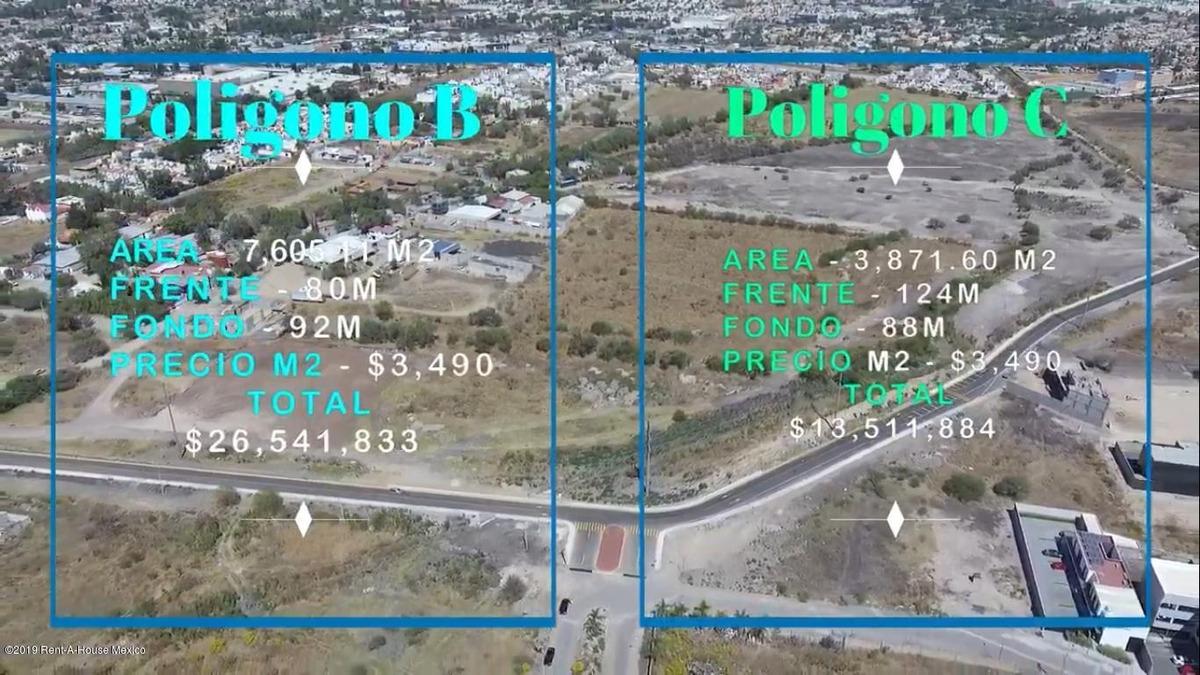 terreno en venta en tejeda, corregidora, rah-mx-20-360