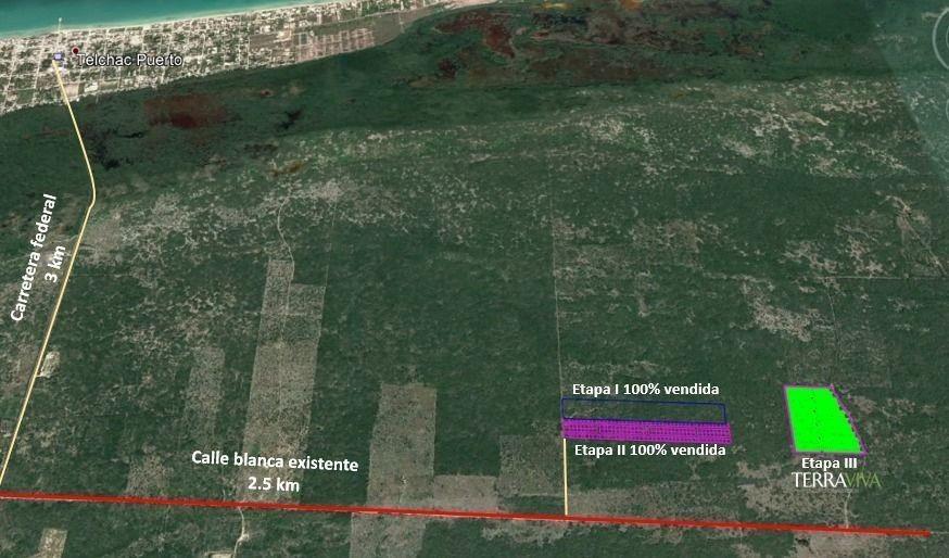 terreno en venta en telchan yucatán