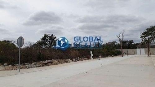 terreno en venta en temozon, zona de alta plusvalía. tv-4662