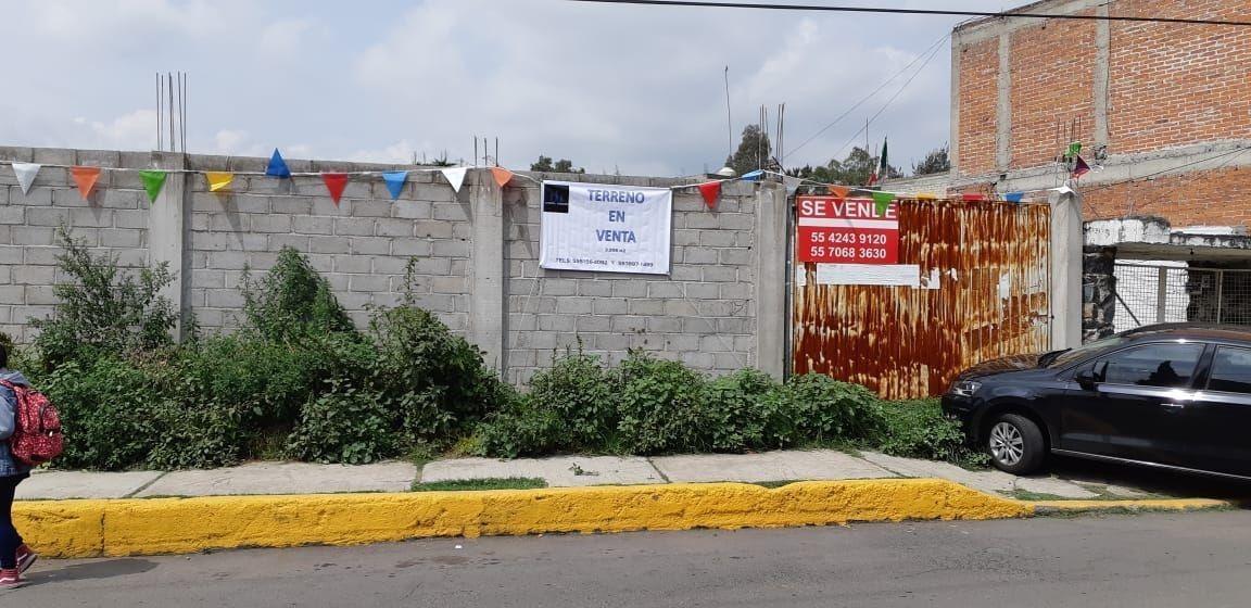 terreno en venta en tlahuac