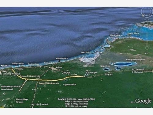 terreno en venta en tulum - laguna nopalitos - muyil