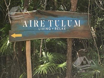terreno en venta en tulum/aire tulum/rivera maya