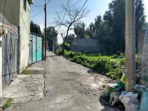 terreno en venta en tulyehualco, xochimilco