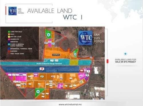 terreno en venta  en wtc industrial (zona industrial)