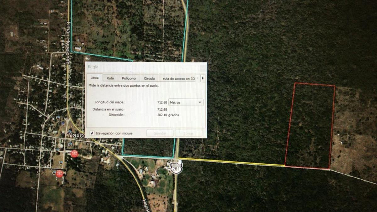 terreno en venta en yucatan, de 15 ha ideal para inversionistas