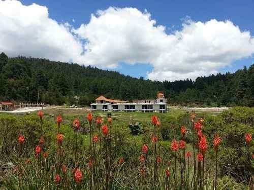 terreno en venta fracc en mineral del monte, residencial campestres. tu sueño hecho realidad