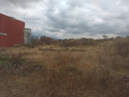terreno en venta fracc lomas de tlayacapan