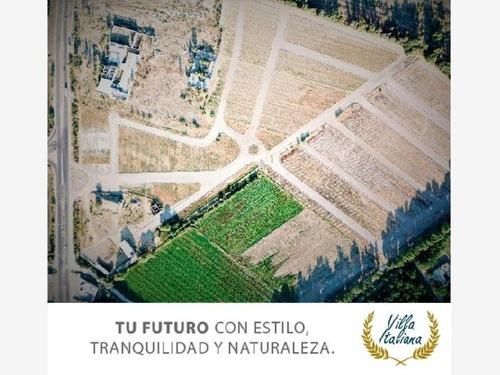 terreno en venta fracc villa italiana