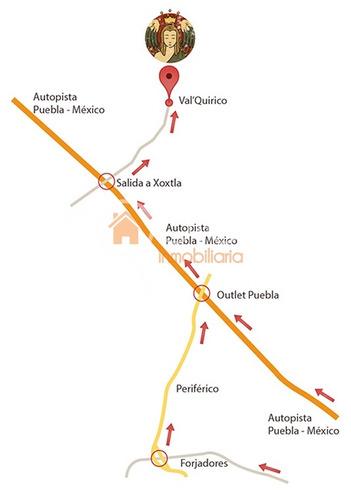 terreno en venta fraccionamiento val´quirico en tlaxcala