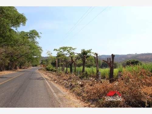 terreno en venta frente a la carretera la caja-el remate, comala, colima; 2.5 hectáreas de riego