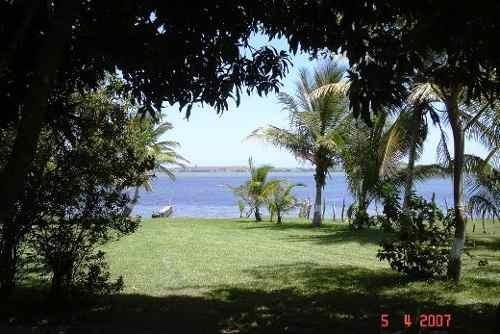 terreno en venta frente a la laguna de tamiahua.