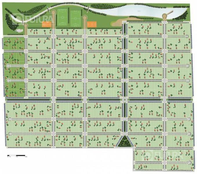 terreno en venta  funes norte con proyecto aprobado para 4 casas