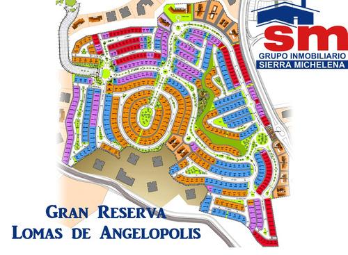 terreno en venta gran reserva lomas de angelopolis