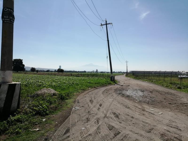 terreno en venta huejotzingo, parque industrial, san miguel