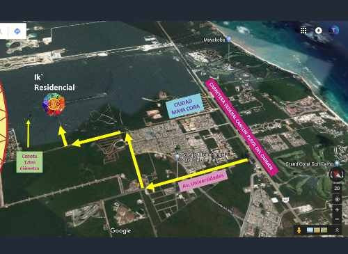 terreno en venta - ik' residencial - playa del carmen