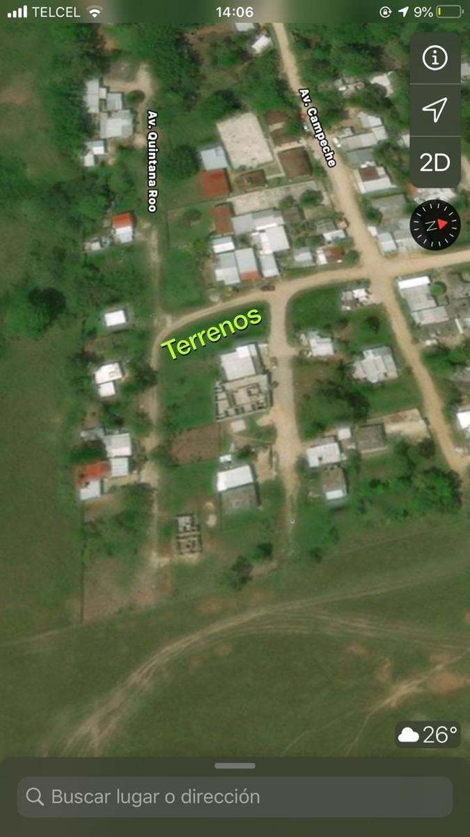 terreno en venta junto al ex aeropuerto palenque, chiapas