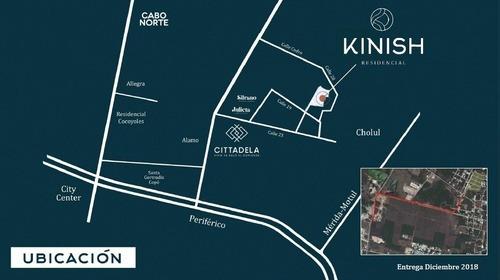 terreno en venta kinish, tixcuytun