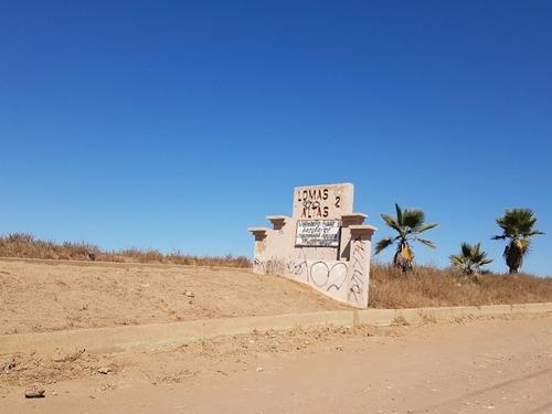 terreno en venta lomas altas ii, playas de rosarito