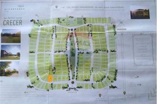 terreno en venta - los alcanfores-b. privado-pilar