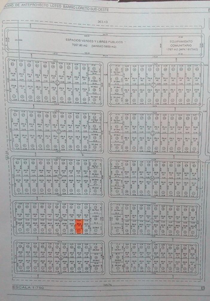 terreno en venta lujan jauregui bºnuevo loreto b9