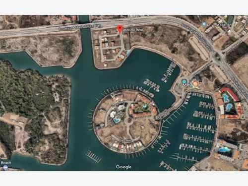 terreno en venta marina real marina mazatlan con muelle