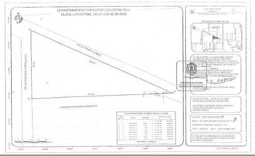 terreno en venta metepec h333a atras prepa tec