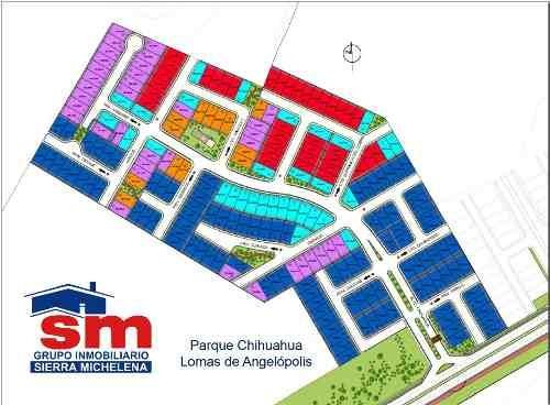 terreno en venta parque chihuahua lomas de angelopolis