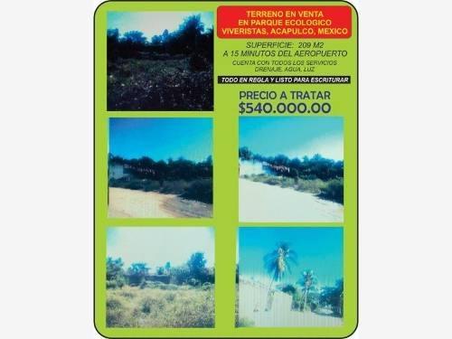 terreno en venta parque ecologico de viveristas