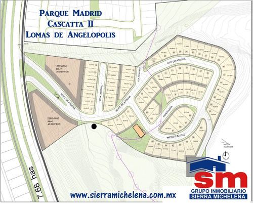 terreno en venta parque madrid lomas de angelopolis