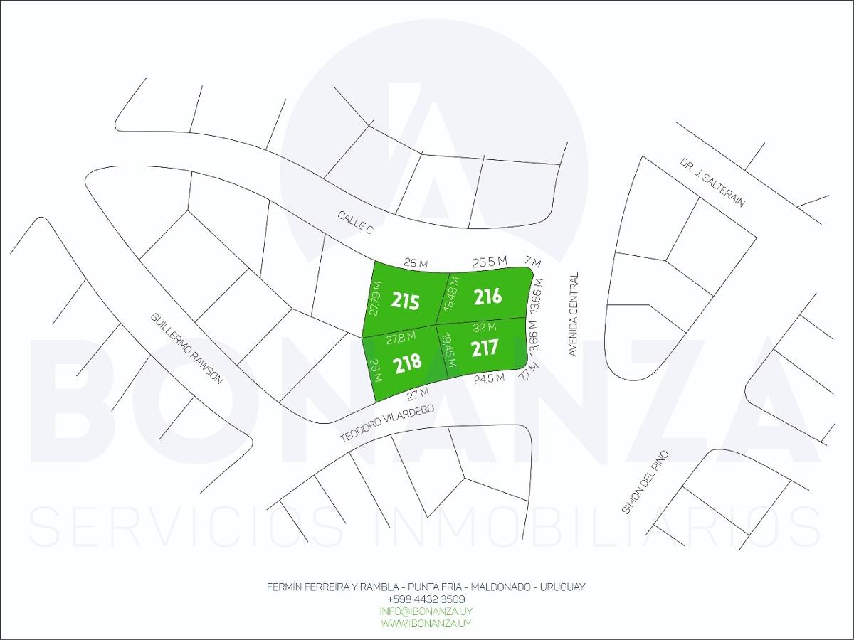 terreno en venta, piriápolis, barrio country