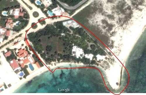 terreno  en venta playa del carmen, con 5 villas en punta esmeralda