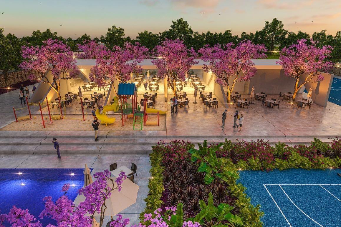 terreno en venta, privada blanca residencial, kikteil, mérida yucatan