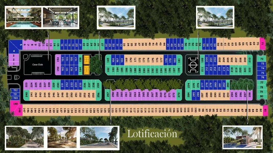 terreno en venta, privada en cholul, zona norte. tv-4855