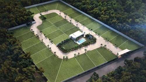 terreno en venta, privada en zona la isla, temozon. tv-5873