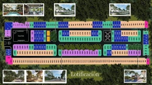 terreno en venta privada tamora, conkal