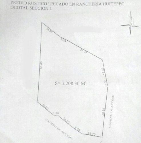 terreno en venta, rancheria huitepec
