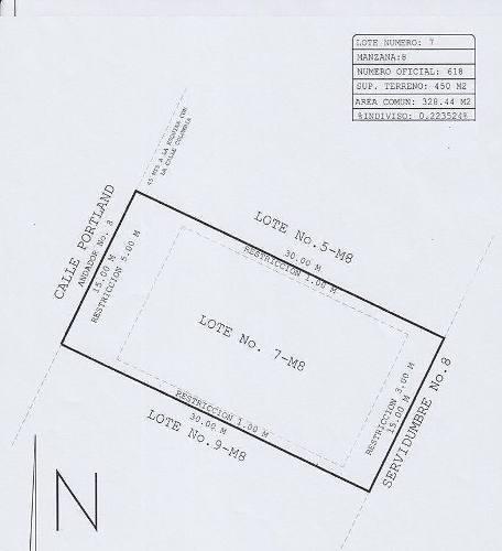 terreno en venta residencial los leones iii